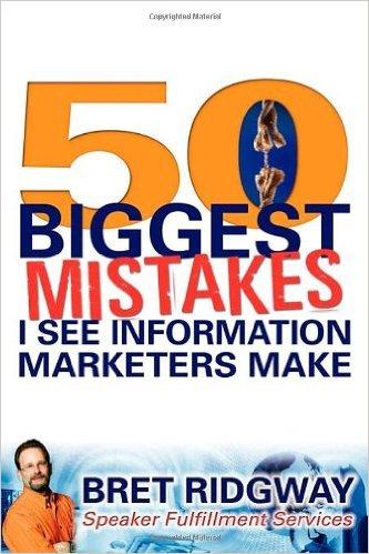 بازاریابی اطلاعات، چکیده کتاب 50 اشتباه بازاریابی اطلاعات