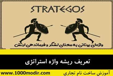 انواع استراتژی